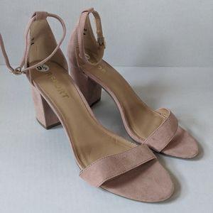 NEW Report Pink Blush Pamela Heeled Sandals